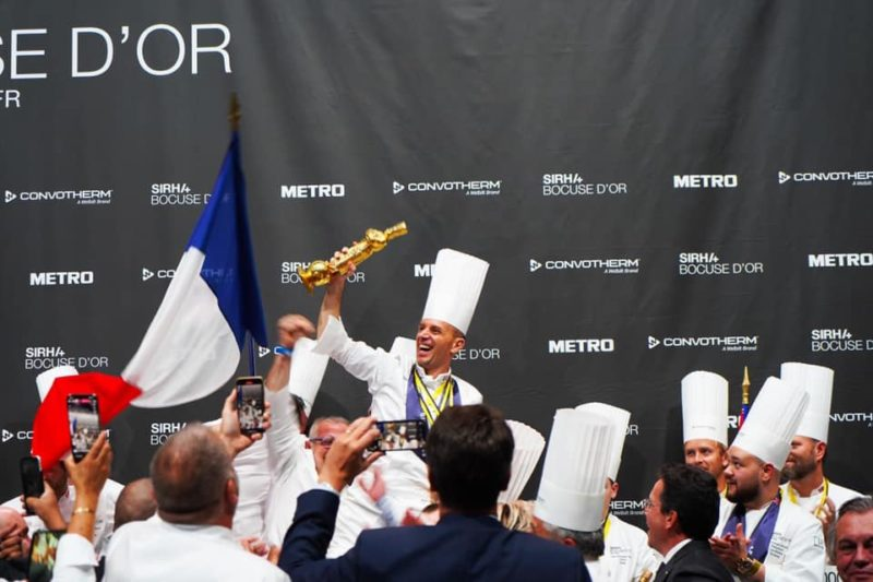 Gastronomie : la France remporte le prestigieux concours culinaire du Bocuse d'Or 2021