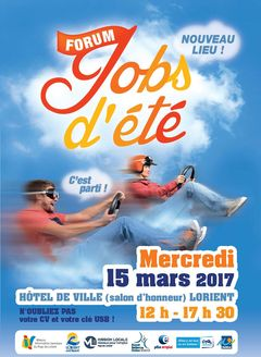 Job été Lorient 15 mars 2017