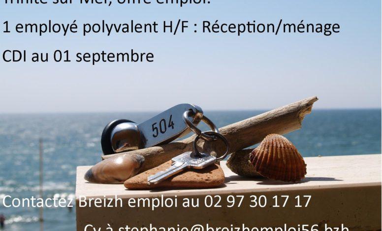 employé polyvalent H/F réception ménage