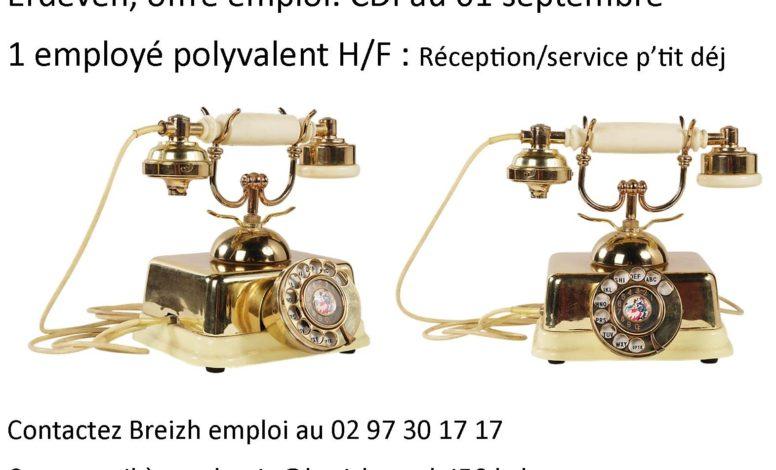 employé polyvalent H/F  réception service ptit déj